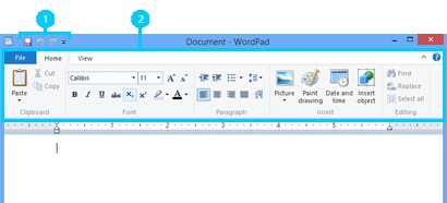 WordPad window